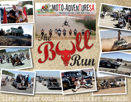 Bull Run 7-9 October 2016 MotoAdventure SA